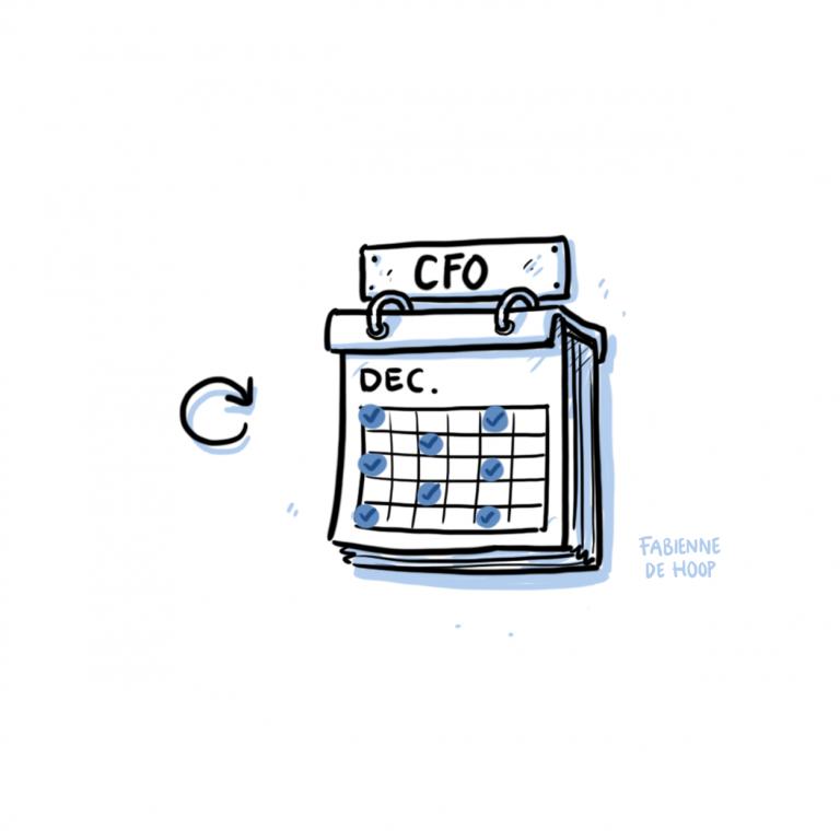 CFO abonnement cartoon