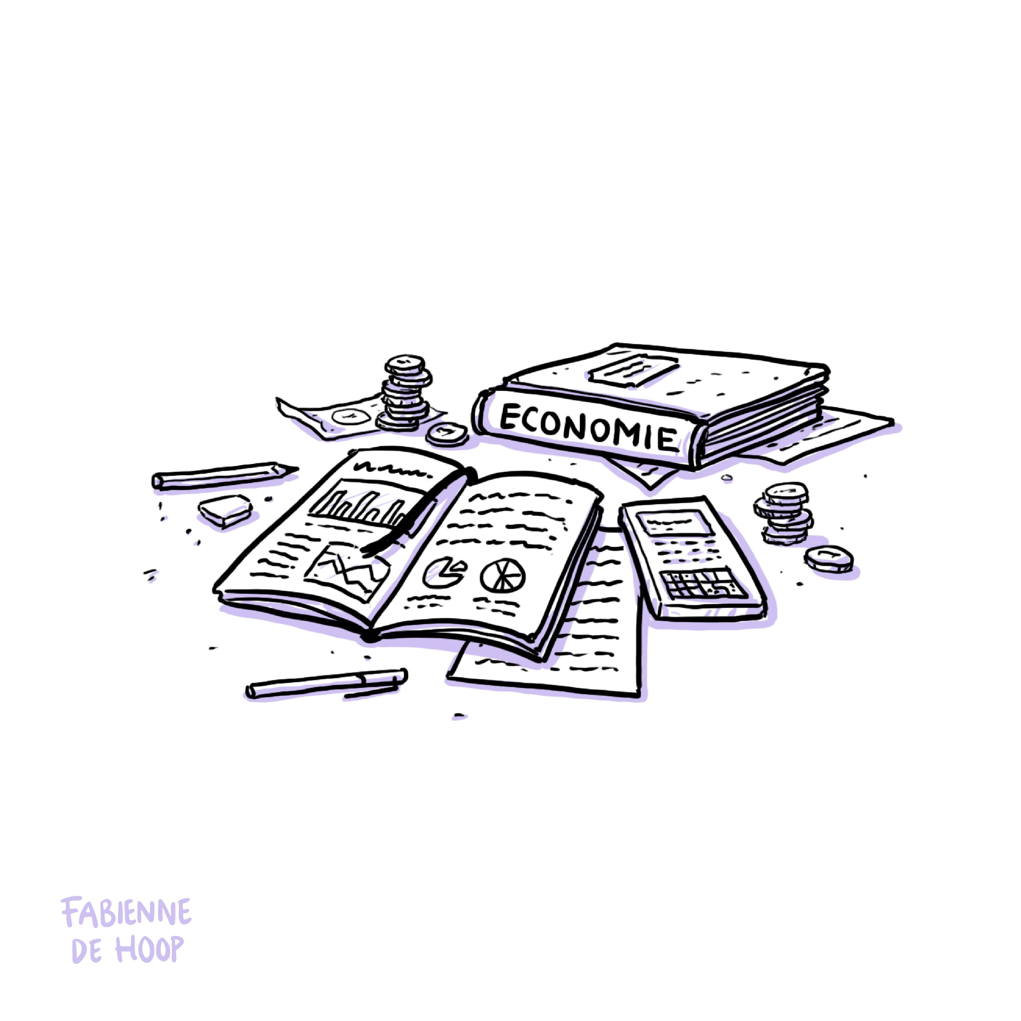 Schoolboeken economie