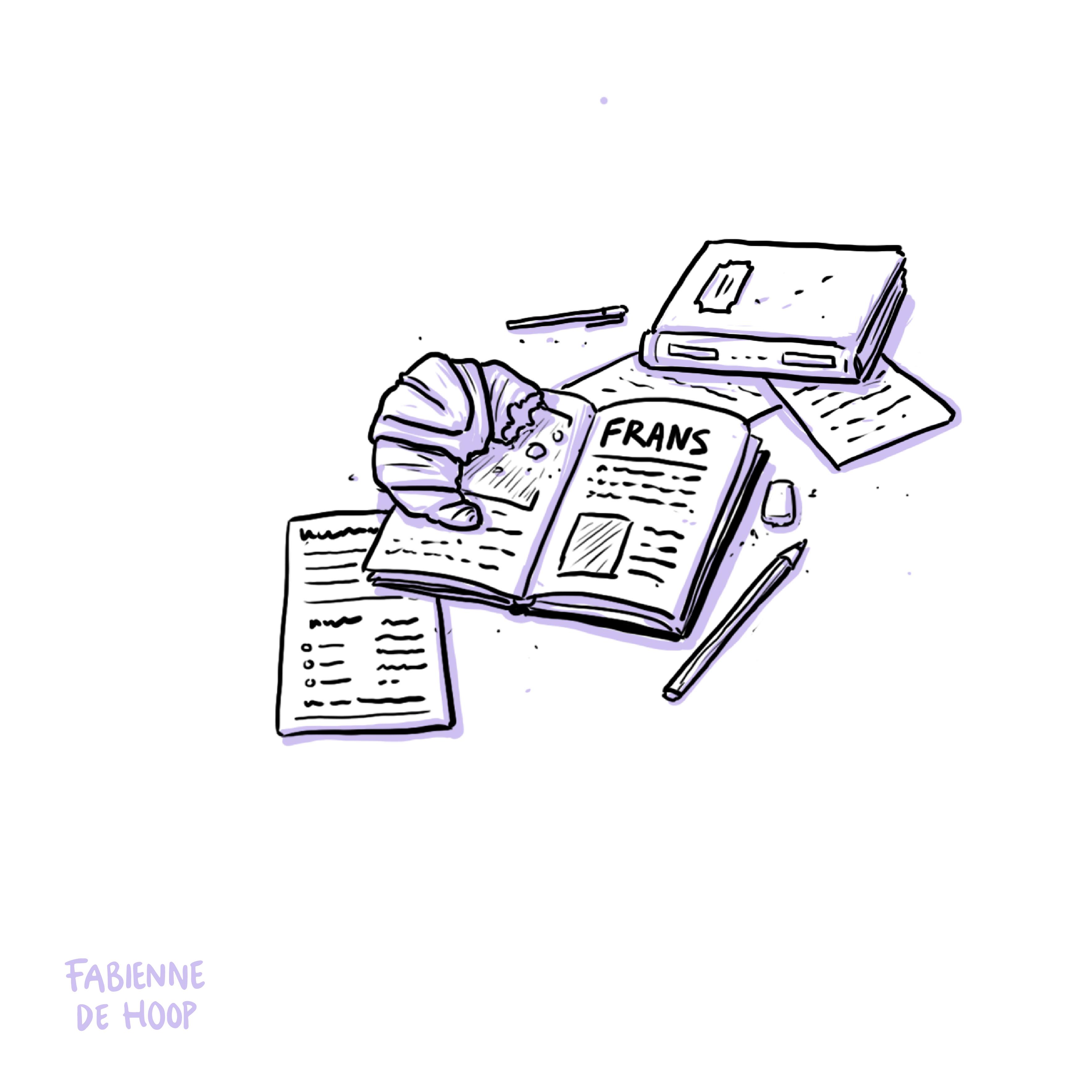 Studieboeken Frans