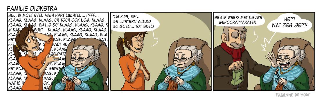 Familie Dijkstra strip 16