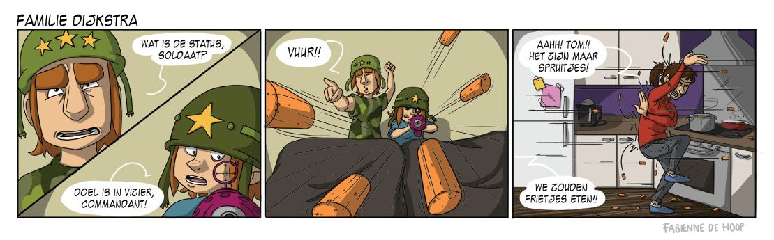Familie Dijkstra strip 17