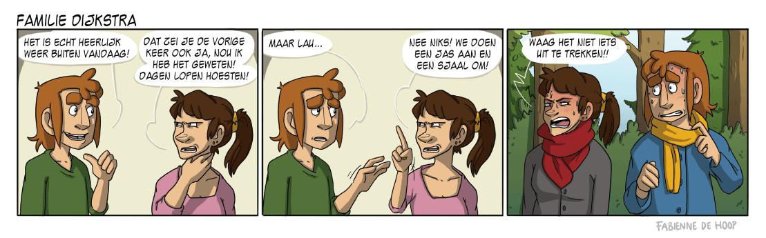 Familie Dijkstra strip 19