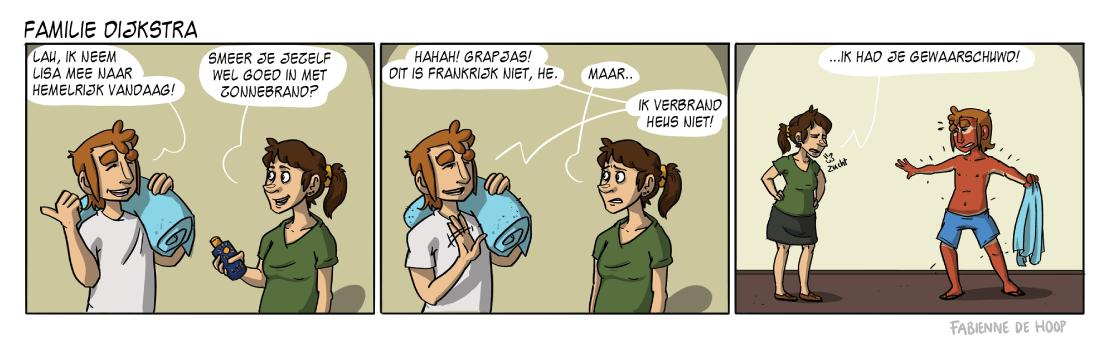 Familie Dijkstra strip 20