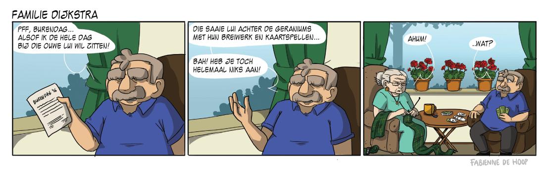 Familie Dijkstra strip 23
