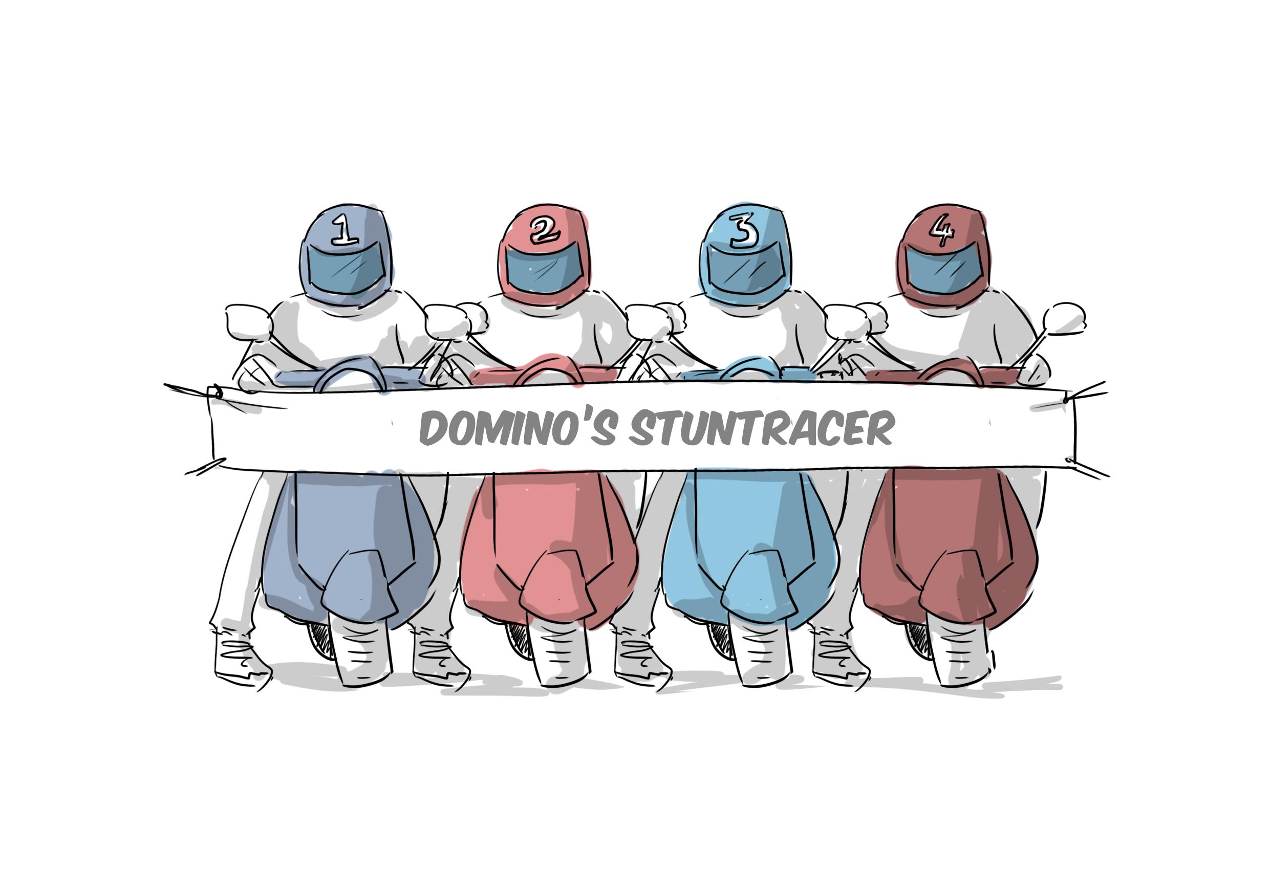 Illustratie van scooters