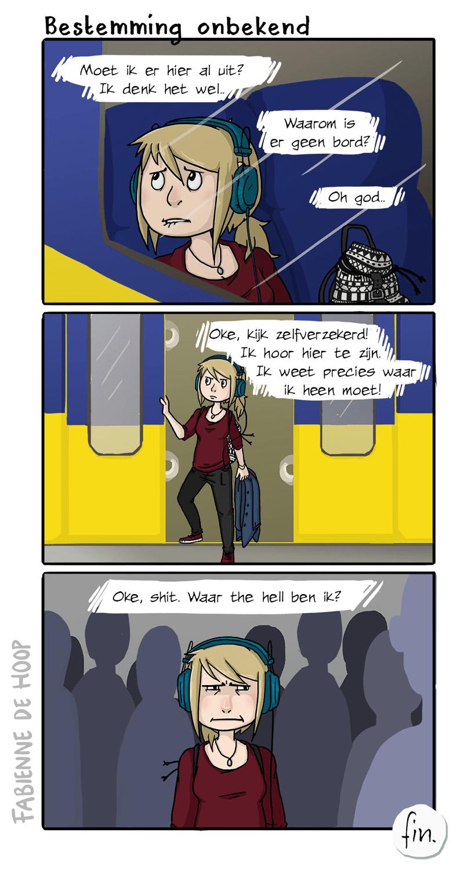 Bestemming onbekend strip