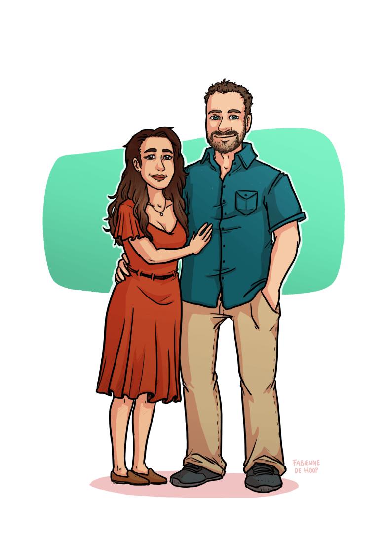 Relatie portret van Rob en Rachael