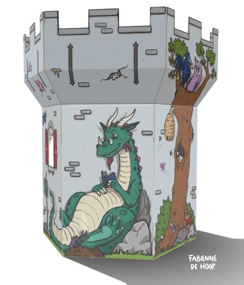 Speelkasteel Family Fortress 3D model