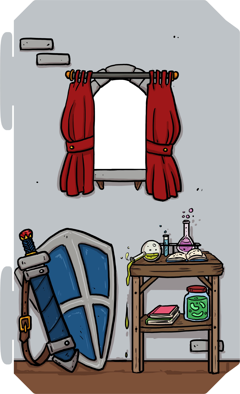 Speelkasteel Family Fortress met raam