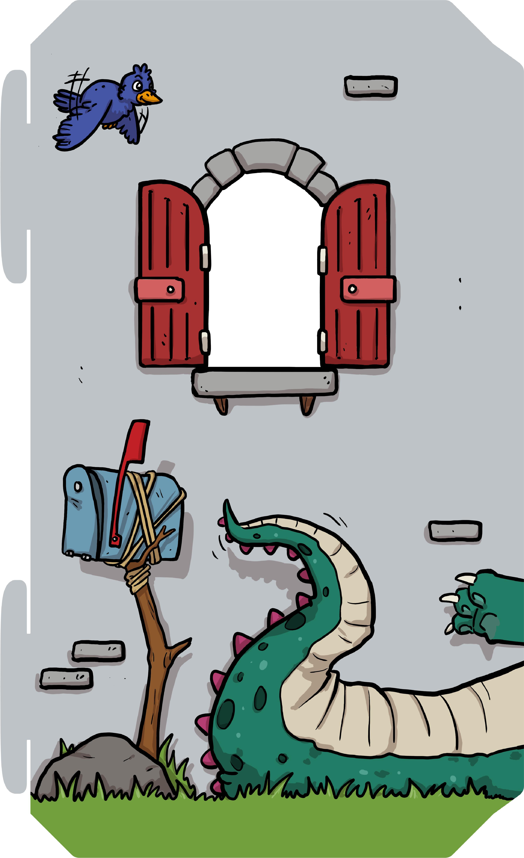Speelkasteel Family Fortress met grote draak