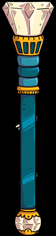 Speelgoed wapen van karton voor volwassene in blauw