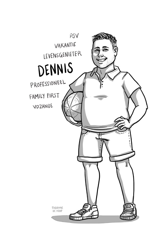 Zakelijk portret voor Dennis