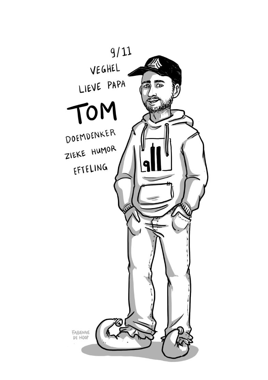 Zakelijk portret Tom